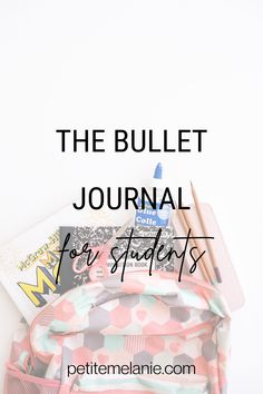 Bullet Journaling for students, Part 1, 2 and 3. Tips to help students to be more organized during the school year. The complete guide to help students be more organized with a Bullet Journal during the school year. Class schedule, weekly schedule, homework, group projects, budget, finances, meal prep. Weekly Schedule, Class Schedule, Bullet Journal School, Bullet Journals, Group Projects, High School Students, Getting Organized, Homework, Planners