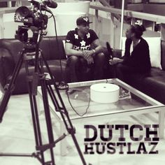 Interview. Lights, camera, action about my life and the world of music! #dutchhustlaz #camera #interview #dutch #edm #dj #music #clotingline