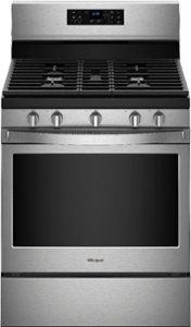 Self-Cleaning Freestanding Gas Convection Range Stainless steel at Best Buy. Find low everyday prices and buy online for delivery or in-store pick-up. Whirlpool Dishwasher, Built In Dishwasher, Stainless Steel Oven, Stainless Steel Refrigerator, Old Stove, Single Oven, Appliance Sale, Cook Up A Storm, Oven Cleaning