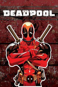 #Deadpool #Fan #Art. (Deadpool Poster) By: Roman Duncan. (THE * 5 * STÅR * ÅWARD * OF: * AW YEAH, IT'S MAJOR ÅWESOMENESS!!!™) [THANK U 4 PINNING!!!<·><]<©>ÅÅÅ+(OB4E)