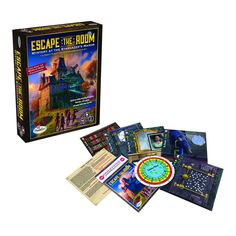 Amazon.com: Escape the Room Stargazer's Manor Board Game: Toys & Games
