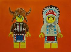 LEGO My Land  24x18 Signed & Numbered Print by kiowachoctaw1, $45.00