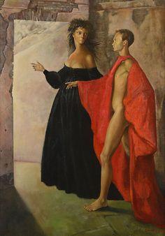 Leonor Fini, Dans la tour (1952)
