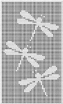 Dragonflies crochet pattern