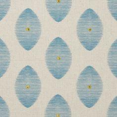 Kindu - Aqua fabric, from the Zanzibar collection by Clarke and Clarke Aqua Fabric, Green Fabric, Turquoise Home Decor, Clarke And Clarke Fabric, Fabric Houses, Gorgeous Fabrics, Drapery Fabric, Curtains, Fabric Samples