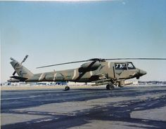 Advanced Attack Helicopter program contenders: 1972-1976. Following the cancellation of the Lockheed AH-56 Cheyennein 1972, a new program was authorized by the US Army to find a replacement for the Bell AH-1 Cobra. The Hughes YAH-64 Apache(Photo #1) came out as the winner of that contest, having flown against the Bell YAH-63 (Photos #2 - 4) during 1975 and 1976. Additional entrants, which did not make the final fly-off, were the Sikorsky S-67 Blackhawk (Photos #5-6), the Lockheed CL-1700…
