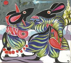 Designer mice by Toller Cranston