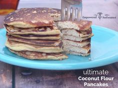 Perfect coconut flour pancakes! Coconut flour pancakes seem lovely in theory, but often lead to a disappointing breakfast of dense, pale pucks of dough. These grain free pancakes, however, do justice to memories of Aunt Jemima's chemical-filled goodness piled sky-high on breakfast plates. Coconut Flour Pancake Secrets First secret to perfect coconut flour pancakes? It's …