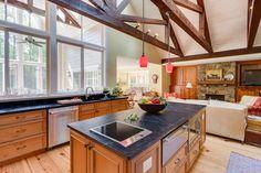 Rustic Elegant Knotty Alder Kitchen - traditional - kitchen - dc metro - Reico Kitchen & Bath