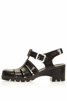 NINA Jelly Sandals - Black