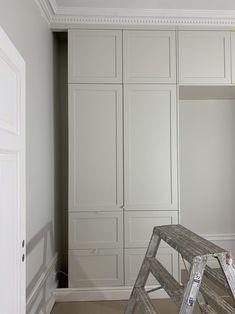 Uppdatering renovering: Nya färgval i lägenheten - 34 kvadrat - Metro Mode Jotun Lady, Condo Bedroom, Built In Cabinets, Built In Wardrobe, Store Design, My Room, My Dream Home, New Homes, Interior Design