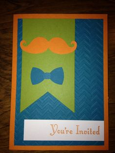 Check out this item in my Etsy shop https://www.etsy.com/listing/229247144/mustache-birthday-invitation