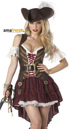 Sexy Pirate Costume for Halloween