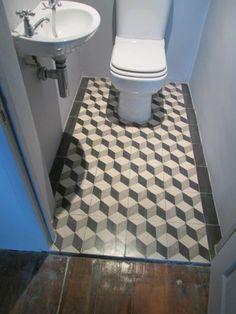 Tiled floor Floors, Tile Floor, Crafts, Home Tiles, Manualidades, Tile Flooring, Handmade Crafts, Craft, Floor