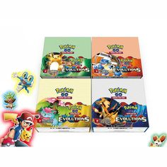 2017 Newest 324PCS/SET Pokemon Cards