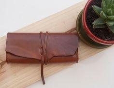 Leather case estuche de cuero / Leather pouch / by Cuerobanchel