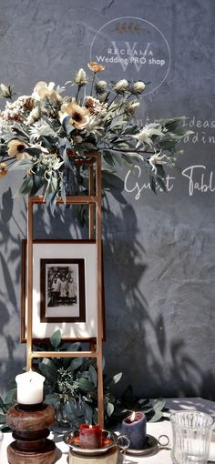 Your memory introduce to your guest Ladder Decor, Memories, Weeding, Table, Home Decor, Memoirs, Souvenirs, Grass, Decoration Home