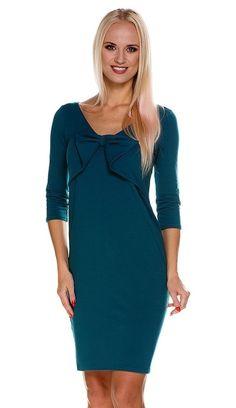 028149b5f5 Sukienka wieczorowa ciążowa Norah