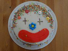 Torta clown al latte condensato #clowncake #tortapagliaccio #lattecondensato
