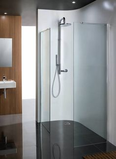 "Simpsons ""Design"" Semi Frameless Walk in Shower Screen"