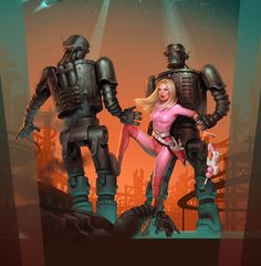 planet of steel by Waldemar-Kazak.deviantart.com on @deviantART
