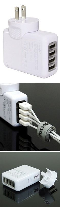 Multi-Recharger for iPod, iPad, iPhone, etc. Need this iThing gadget! #product_design