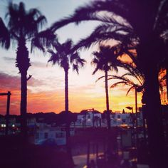Beautiful sunset in Cala'n Bosch #Menorca