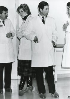 1985-01-29 Diana and Charles visit the Align-Rite Factory in Bridgend, Mid Glamorgan