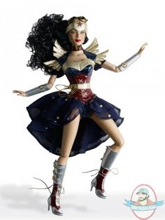 """Tonner DC Comics Wonder Woman Steampunk #1 16"""" Doll by Tonner Doll   Man of Action Figures"""