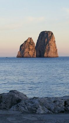 Faraglioni Isle Of Capri, Capri Italy, Sorrento, Amalfi Coast, Photographs, Water, Quotes, Outdoor, Gripe Water