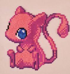 Mew Pixel Art perler beads