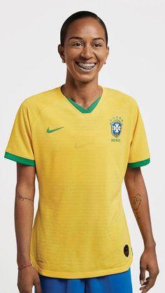 c20557b3a 2019 World Cup Brazil Home Yellow Women s Jerseys Kit(Shirt+Short)