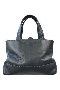 013d03ba4d43  RADLEY  BLACK LEATHER TOTE BAG (M)  Radley  Tote Black Leather