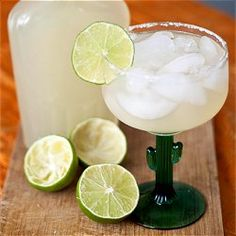 Homemade margarita mixer - you'll never go back to the neon green stuff again!! #foodgawker
