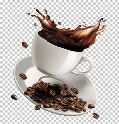 White coffee Instant coffee Cafe - Cartoon vector splash of coffee png Coffee Png, Coffee Milk, Coffee Cafe, Coffee Beans, Coffee Shop Logo, Coffee Shop Design, Coffee Clipart, Popular Candy, Pizza Day