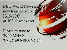 BBC World update on IS5 C Band - moved to IS19