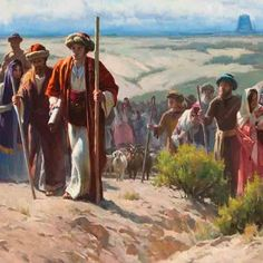 """""""The Jadeites Leaving Babel"""" by Albin Veselka - from Make Known His Wonderful Works art competition 2012, via history.lds"""