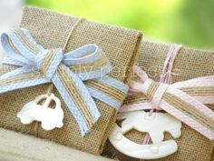 Baby Boy Christening, Christening Favors, Boy Baptism, Newborn Gifts, Baby Gifts, Favor Bags, Gift Bags, Burlap Crafts, Baby Party