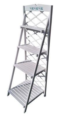 Kwietnik Regal Stojak Drewniany Duzy 150cm Outdoor Chairs Ladder Bookcase Outdoor Decor