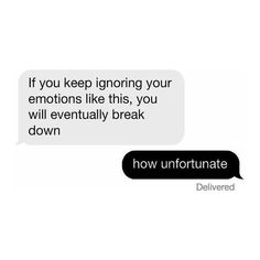 Aesthetic grunge texts sarcastic humor black and white text message liked on Po… - Humor Quotes The Words, Sarkastischer Humor, Humor Texts, From Dusk Till Down, Moving On Quotes, The Wicked The Divine, Captive Prince, Yennefer Of Vengerberg, Black And White Aesthetic
