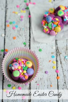 An easy homemade Easter candy you can make with the kids! #Easter