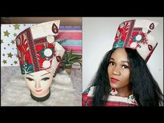 Materials Print Fabric Interfacing Press studs Scissors/Pinking shears Sewing machine Needle and thread Measuring tape and ruler Cov. African Hats, African Attire, African Women, African Print Dresses, African Prints, African Dress, African Design, African Style, Kalamkari Fabric
