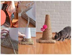 16 Jouets pour chiens et chats, super faciles à bricoler avec des trucs de la…