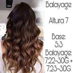 Chocolate Brown Hair Color, Hair Color Caramel, Brown Hair Colors, Balayage Highlights, Balayage Hair, Chestnut Hair, Hair Color Formulas, Hair Color Techniques, Rainbow Hair