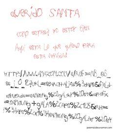 Frases Querido Santa, esta navidad quiero...