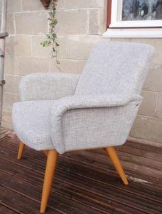 50-luvun nojatuolien verhoilu