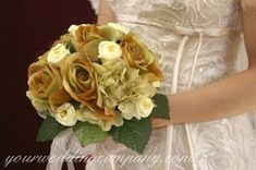 purple and gold wedding flowers | Wedding Bouquets | Bouquet Pictures | Wedding Flowers | Bridal ...