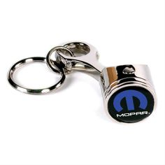 Mopar Piston Keychain - Free Shipping on Orders Over $99 at Genuine Hotrod Hardware