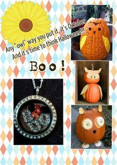 It's October!! Launch month!!!! Order your boo locket for Halloween! www.dawnderossett.origamiowl.com