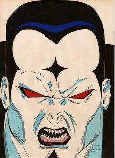O Sr.Sinistro, o nome condiz ao cabeçudo! Mais um vilão dos X-man!